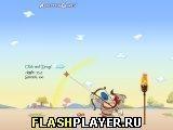 Игра Рен и Стимпи у Робина Хука - играть бесплатно онлайн