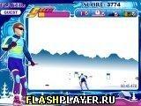 Игра Спринт на сноуборде - играть бесплатно онлайн