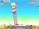 Игра Сладкая башня - играть бесплатно онлайн