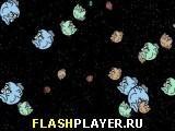 Игра Голодный космос - играть бесплатно онлайн