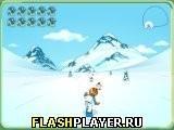 Игра Сноубордист-спасатель - играть бесплатно онлайн