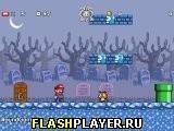 Игра Супер братья Марио 2: Звёздная схватка – Остров призраков - играть бесплатно онлайн