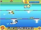 Игра Плавание наперегонки - играть бесплатно онлайн