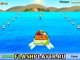 Игра Экстремальная скоростная лодка - играть бесплатно онлайн