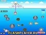 Игра Ловля кальмаров - играть бесплатно онлайн