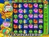 Игра Санта Блоб - играть бесплатно онлайн