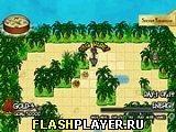 Игра Капитан Голдграббер и охота за сокровищами - играть бесплатно онлайн