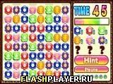 Игра Цветочный матч - играть бесплатно онлайн