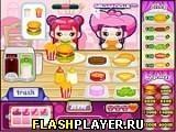 Игра Милый бургер - играть бесплатно онлайн