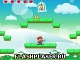 Игра Снежный Марио - играть бесплатно онлайн