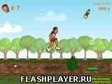 Игра Девушка и бег с препятствиями - играть бесплатно онлайн