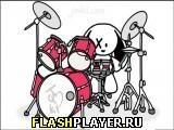 Игра Зайчик-барабанщик - играть бесплатно онлайн
