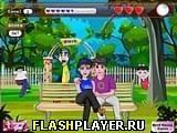 Игра Поцелуй в парке - играть бесплатно онлайн