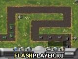 Игра Защити игрушечный танк - играть бесплатно онлайн