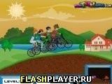 Игра Ралли мультгероев - играть бесплатно онлайн