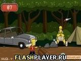 Игра Барт Симпсон: Скейтбординг - играть бесплатно онлайн