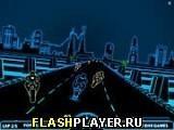 Игра 3Д Неоновые гонки - играть бесплатно онлайн