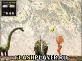 Игра Блонди против динозавров - играть бесплатно онлайн