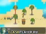 Игра Остров кораблекрушения – Защита башни - играть бесплатно онлайн