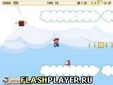 Игра Небесные приключения Супер Марио - играть бесплатно онлайн