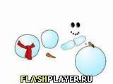 Игра Снеговик - играть бесплатно онлайн