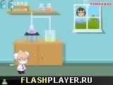 Игра Неуклюжий учёный - играть бесплатно онлайн