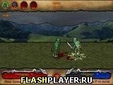 Игра Зомби-рыцарь - играть бесплатно онлайн