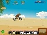 Игра Скуби-Ду: BMX и пляж - играть бесплатно онлайн