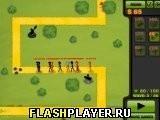 Игра Стикман и защита башни - играть бесплатно онлайн