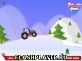 Игра Рождественский трактор - играть бесплатно онлайн