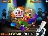 Игра Кинь нож в лицо - играть бесплатно онлайн