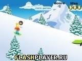 Игра Барт на сноуборде - играть бесплатно онлайн