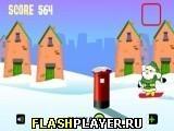 Игра Городской сноубординг Санты - играть бесплатно онлайн