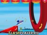 Игра Супер Соника на скутере - играть бесплатно онлайн