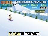 Игра Сноубординг стайл 2012 - играть бесплатно онлайн