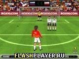 Игра Футбольные удары - играть бесплатно онлайн