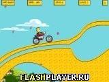 Игра Барт и байк - играть бесплатно онлайн