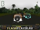 Игра Поездка на джипе 3Д - играть бесплатно онлайн