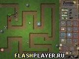 Игра Зомби защита: Восход - играть бесплатно онлайн