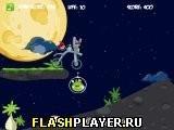 Игра Злые птицы: Космический байк - играть бесплатно онлайн