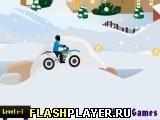 Игра Зимние гонки на байках - играть бесплатно онлайн