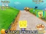 Игра Спанч-Боб: Байк 3Д - играть бесплатно онлайн