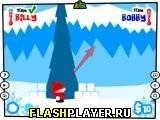 Игра Битва на снежках - играть бесплатно онлайн