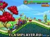 Игра Марио и соревнования на байках - играть бесплатно онлайн