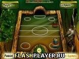 Игра Аэрохоккей в джунглях - играть бесплатно онлайн