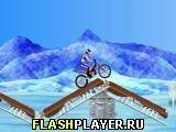 Игра Байкмания на льду - играть бесплатно онлайн