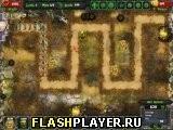 Игра Зомби защита - играть бесплатно онлайн