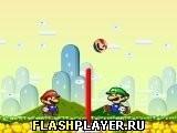 Игра Братья Марио волейбол - играть бесплатно онлайн