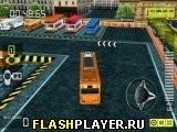 Игра Автобусная парковка 3Д - играть бесплатно онлайн