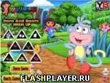 Игра Даша и ботинки - играть бесплатно онлайн